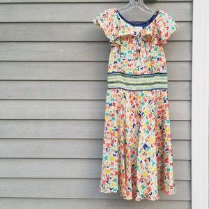 Jessica Simpson Butterfly Print Dress Sz 6
